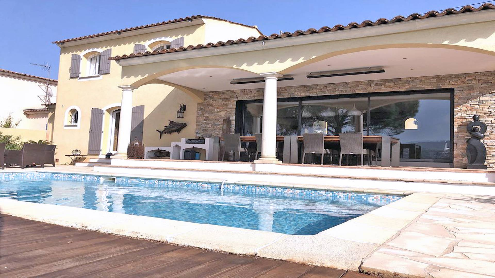 Les Geais Villa avec piscine STE MAXIME