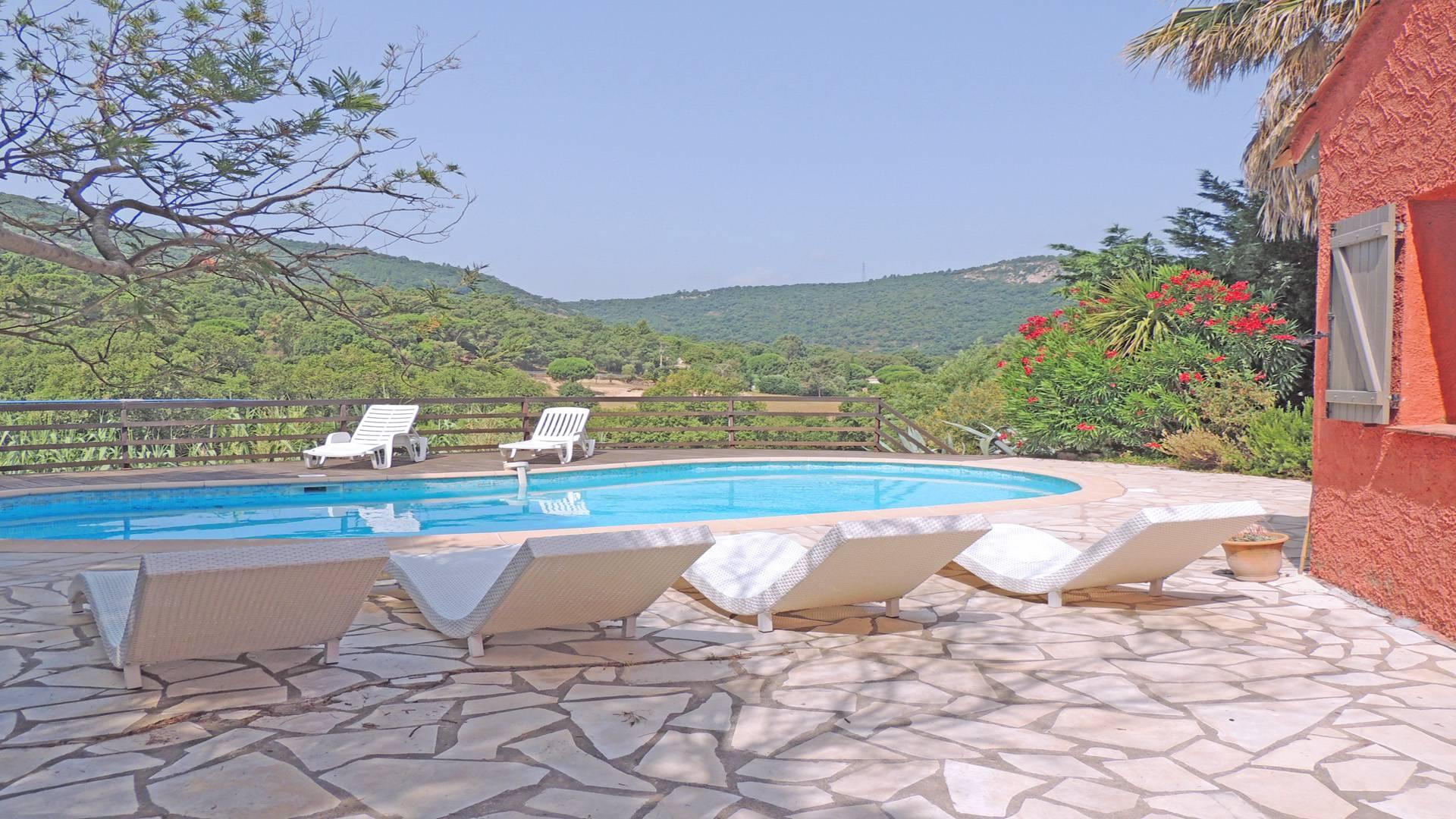 Coriolan Villa avec piscine LE PLAN DE LA TOUR