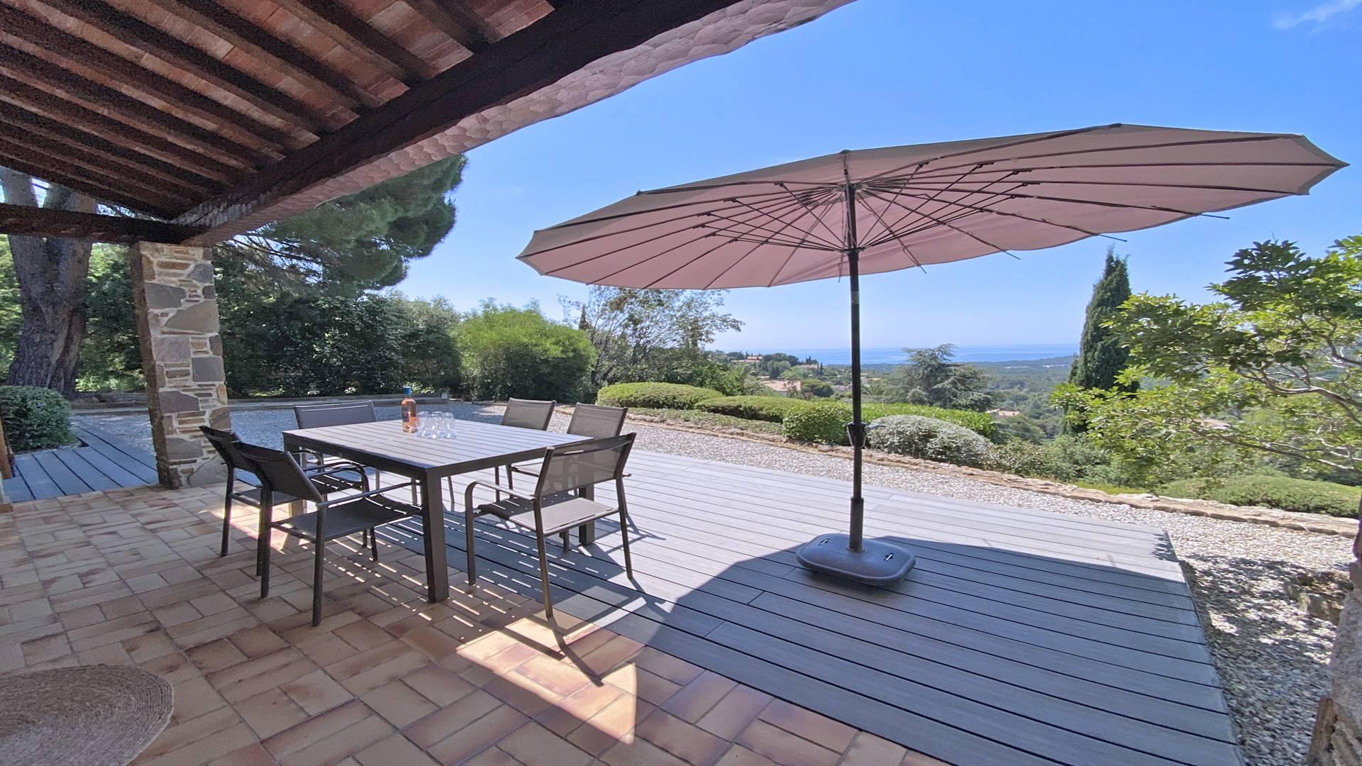 Location Villa avec piscine LA CROIX VALMER